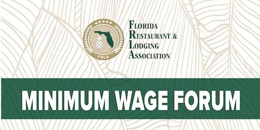 Minimum Wage Forum & School Supply Drive - Lee Chapter