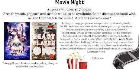 Teen Movie Night - Ready Player One  tickets