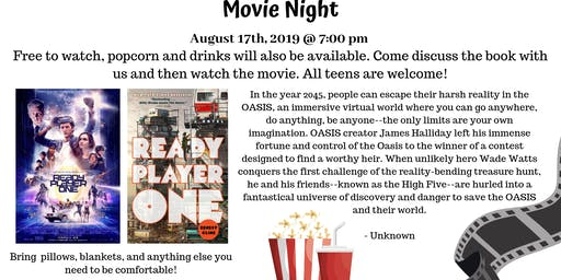 Teen Movie Night - Ready Player One