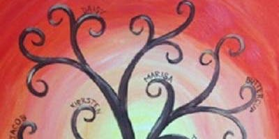 Family Tree Painting Project at Glory Days Eldersburg