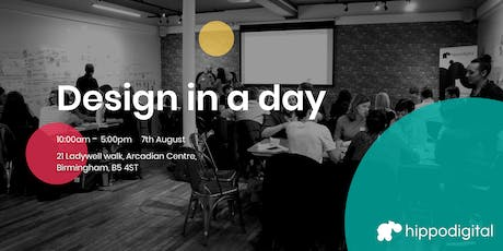 Digital Service Design in a day - Birmingham tickets