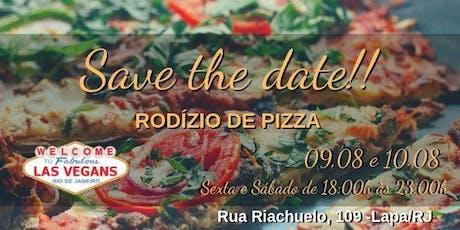 RODIZIO DE PIZZA  DO LAS VEGANS ingressos