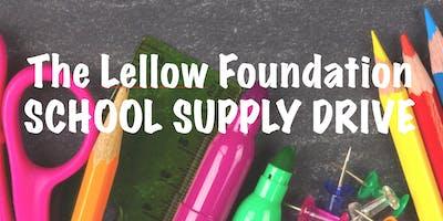 Lellow Foundation School Supply Drive