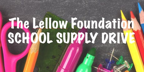 Lellow Foundation School Supply Drive tickets