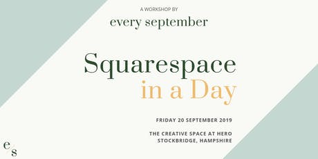 Squarespace in a Day Workshop tickets