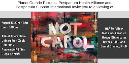 PHA Educational Event: Not Carol Screening