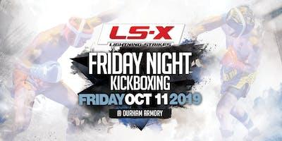 Lightning Strikes X ProAm Kickboxing Event