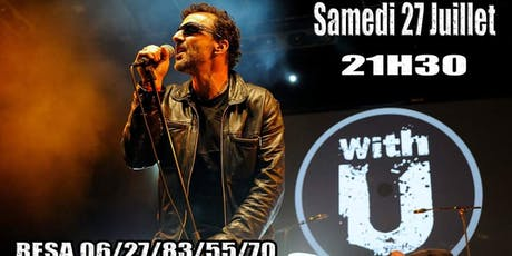 Soirée Tribute to U2 avec WITH U tickets