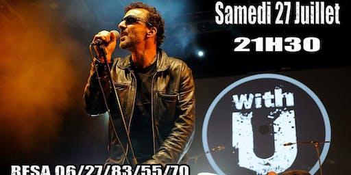 Soirée Tribute to U2 avec WITH U