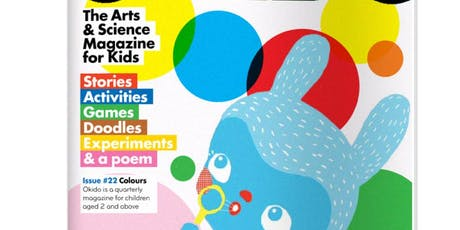 OKIDO ART AND SCIENCE SUMMER CLUB at Copper Beech Cafe - COLOUR tickets