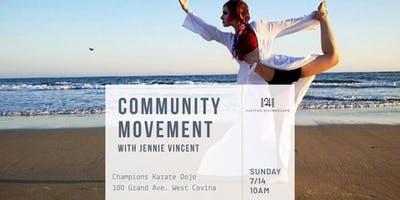 Community Movement: with Jennie Vincent