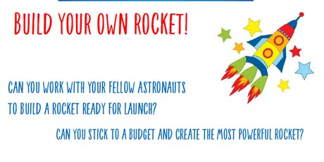 Charlton Kings Library -  Build your own Rocket! tickets
