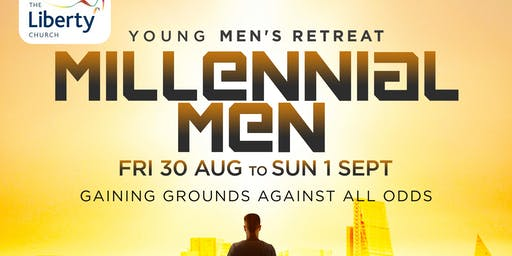 Millennial Men - Young Men's Retreat