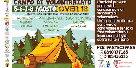 Campo di Volontariato 2019 a Castel San Giorgio biglietti