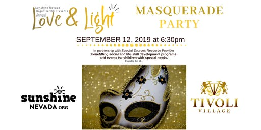 Love and Light Masquerade Party