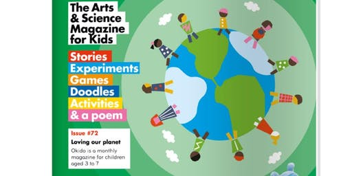 OKIDO ART AND SCIENCE SUMMER CLUB at Copper Beech Cafe - THE WORLD