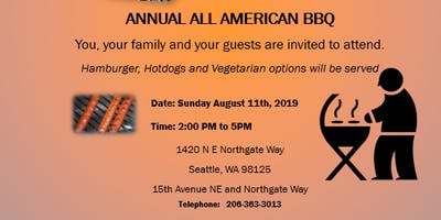 Volunteers for 18th Annual Neighborhood BBQ