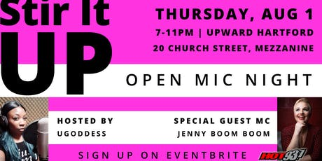 Stir It UP: Open Mic Series - Volume I tickets