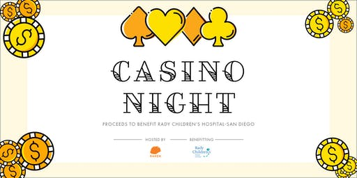 Raken Casino Night benefitting Rady Children's Hospital