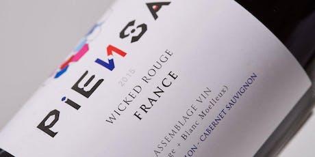 Cata de vinos Bodega Francesa Piensa entradas
