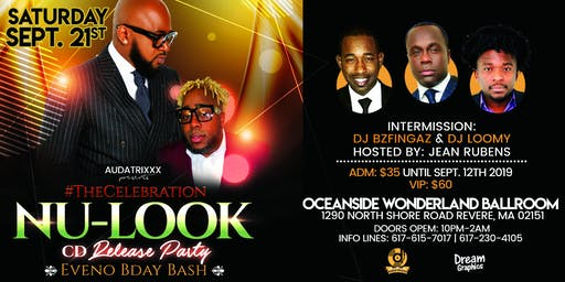 NULOOK Album Release Boston Sept 21st
