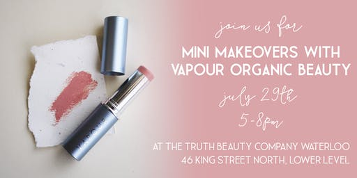 Vapour Organic Beauty Mini Makeovers