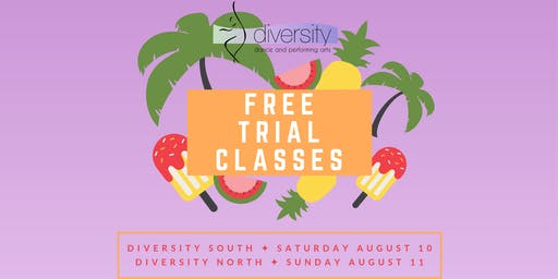 [NORTH] Free Trial Classes!