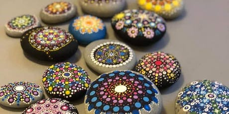 Mandala Rock Painting + Vinyasa Flow tickets
