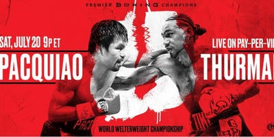 D&B Rivercenter Pacquiao vs. Thurman