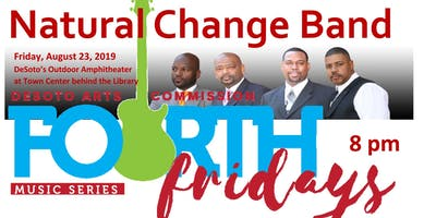 Fourth Friday Concert Series - Natural Change Band
