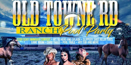 Old Towne Road Ranch Pool Party