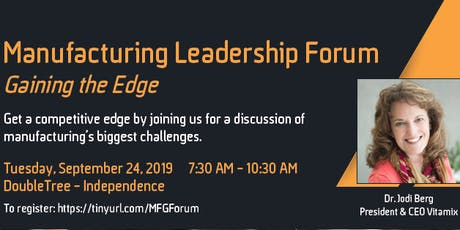 Manufacturing Leadership Forum tickets