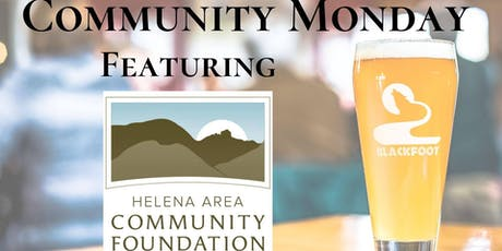 Community Monday with Helena Area Community Foundation tickets