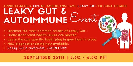 Leaky Gut & AutoImmune Event tickets