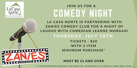 Zanies Comedy Show with Leanne Morgan tickets