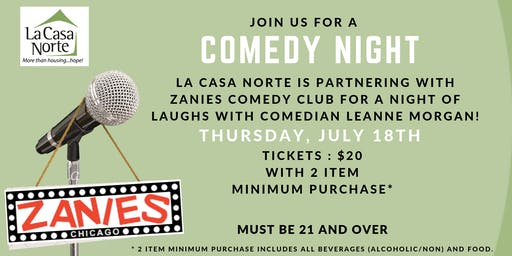 Zanies Comedy Show with Leanne Morgan