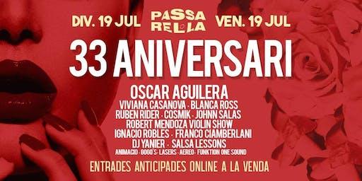 Discoteca Passarel·la Empuriabrava - 33 Aniversario