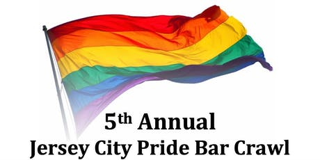 5th Annual Jersey City Pride Bar Crawl tickets