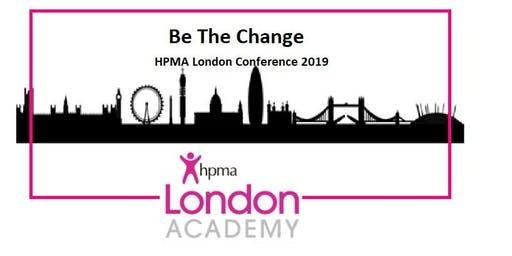 Be the Change: HPMA London Academy Conference 2019