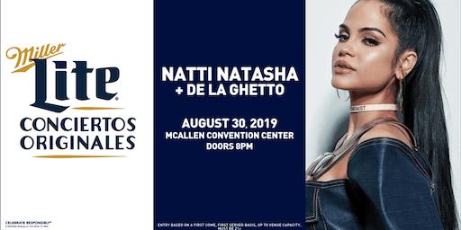Miller Lite Presents: Natti Natasha & De La Ghetto - Aug 30 - McAllen, TX
