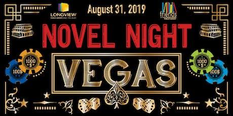 Novel Night 2019 - VEGAS! tickets