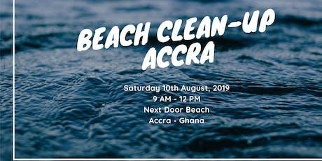 Beach Clean-up Accra tickets