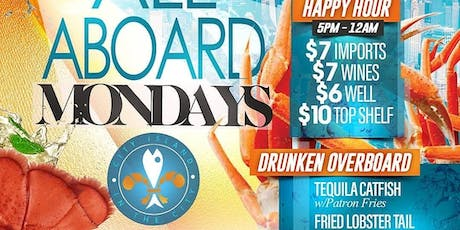 ALL ABOARD MONDAYS  tickets