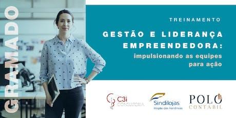GESTÃO E LIDERANÇA EMPREENDEDORA: Impulsionando as equipes para ação ingressos