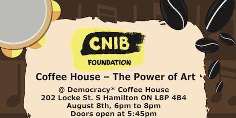 CNIB Hamilton Coffee House - The Power of Art tickets