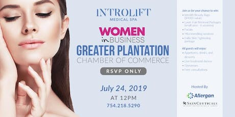 Women in Business Greater Plantation Chamber of Commerce Event tickets