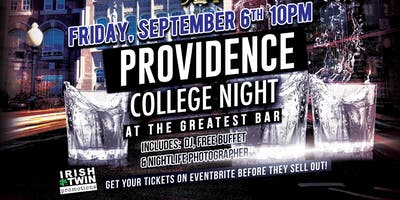 Providence College Night at The Greatest Bar!