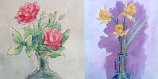 Floral Watercolor Series