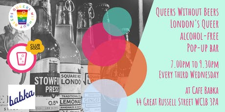 Queers Without Beers Monthly London Social  tickets