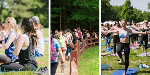 Hikyoga 3 Peaks: Meditation. Hiking. Yoga.